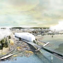 Kruunusillat Bridge - Kruunuvorenranta landing 705px